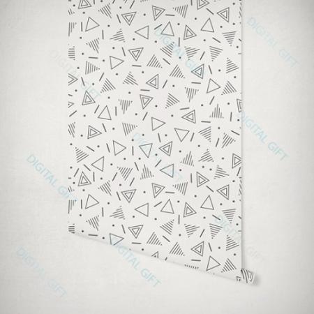 Tapet tip pattern - Geometrie1