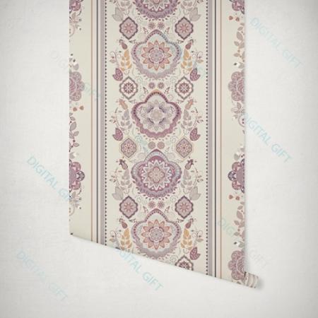 Tapet tip pattern - Motive florale1
