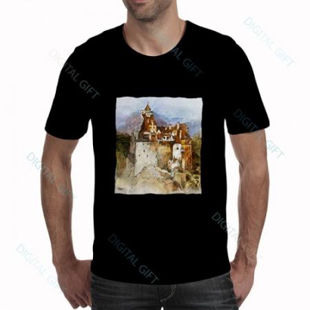 Tricou bărbați - Castelul Bran 010