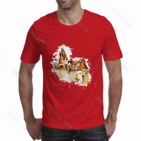 Tricou bărbați - Castelul Bran 020