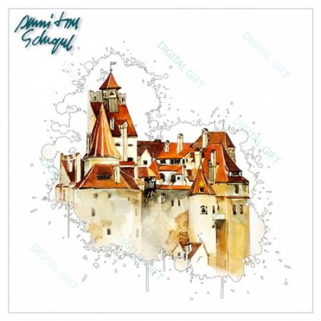 Tricou bărbați - Castelul Bran 021