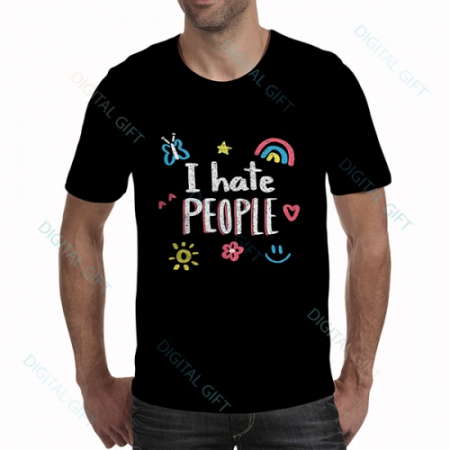 Tricou bărbați - I hate people0