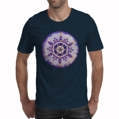 """Tricou bărbați - Mandala """"Coroana""""0"""