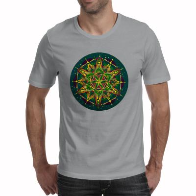 "Tricou bărbați - Mandala ""Inimă sacră""0"