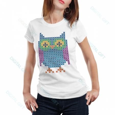 Tricou dame - Bufnița0