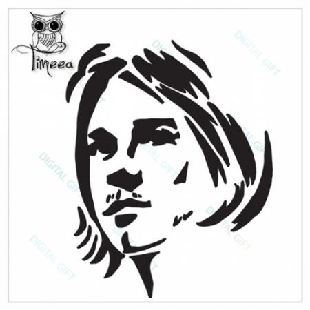 Tricou dame - Kurt Cobain1