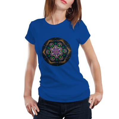 """Tricou dame - Mandala """"Conștiința extinsă""""0"""