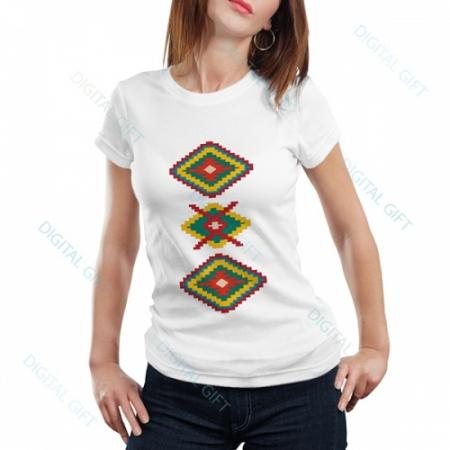 Tricou dame - Motive etno 030