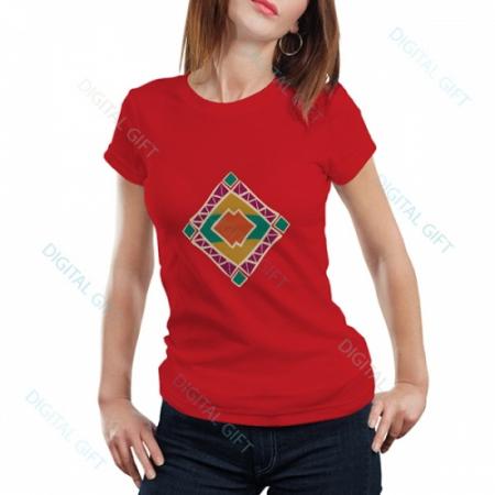 Tricou dame - Motive etno 050