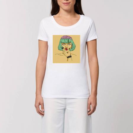 Tricou fete - Doamna cu creier [0]