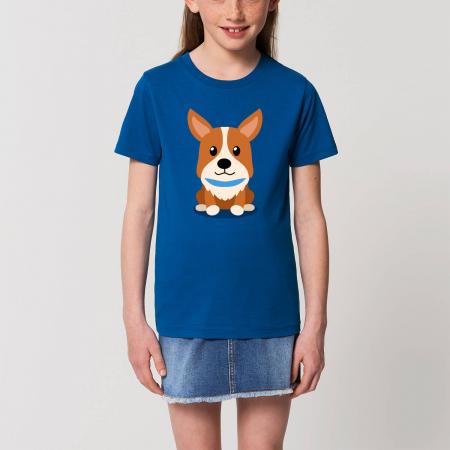Tricou unisex copii - Cățelușul meu, Corgi [0]