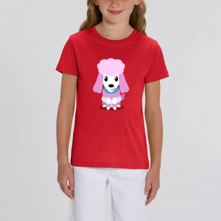 Tricou unisex copii - Cățelușul meu, Pudel [0]