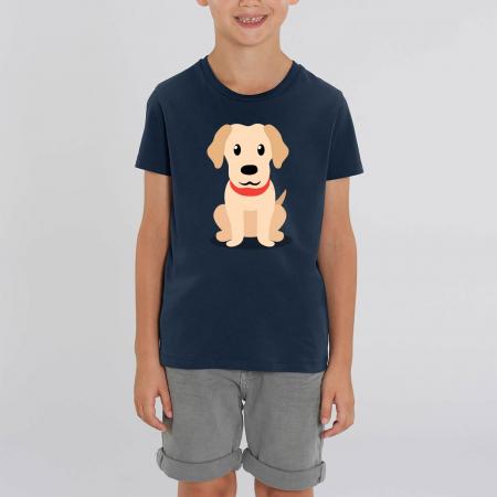 Tricou unisex copii - Cățelușul meu, Retriever [0]