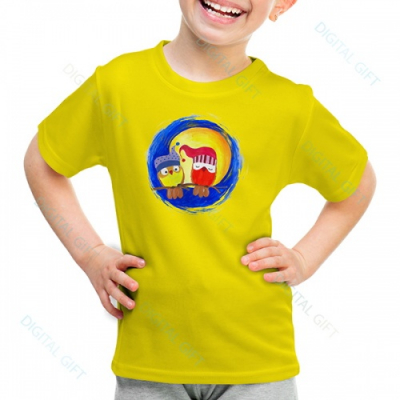 Tricou unisex copii - La lumina lunii0