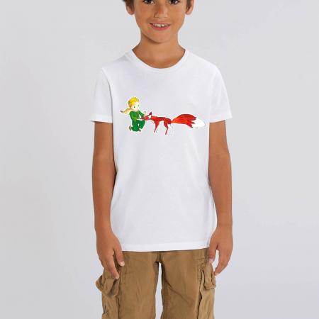 Tricou copii - Micul Print si vulpea [0]