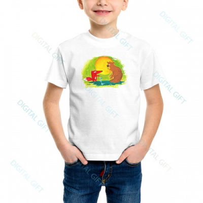 Tricou unisex copii - Ursul păcălit0