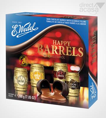 BUTOIASE DE CIOCOLATA NEAGRA CU ALCOOL