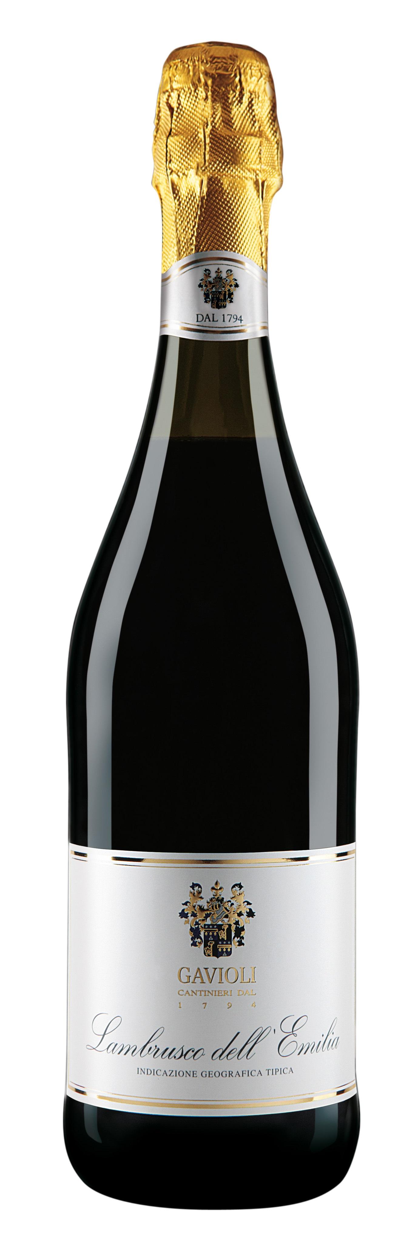 Vin Spumant Lambrusco Rosu Emilia, Gavioli, IGT 0,75 L [0]