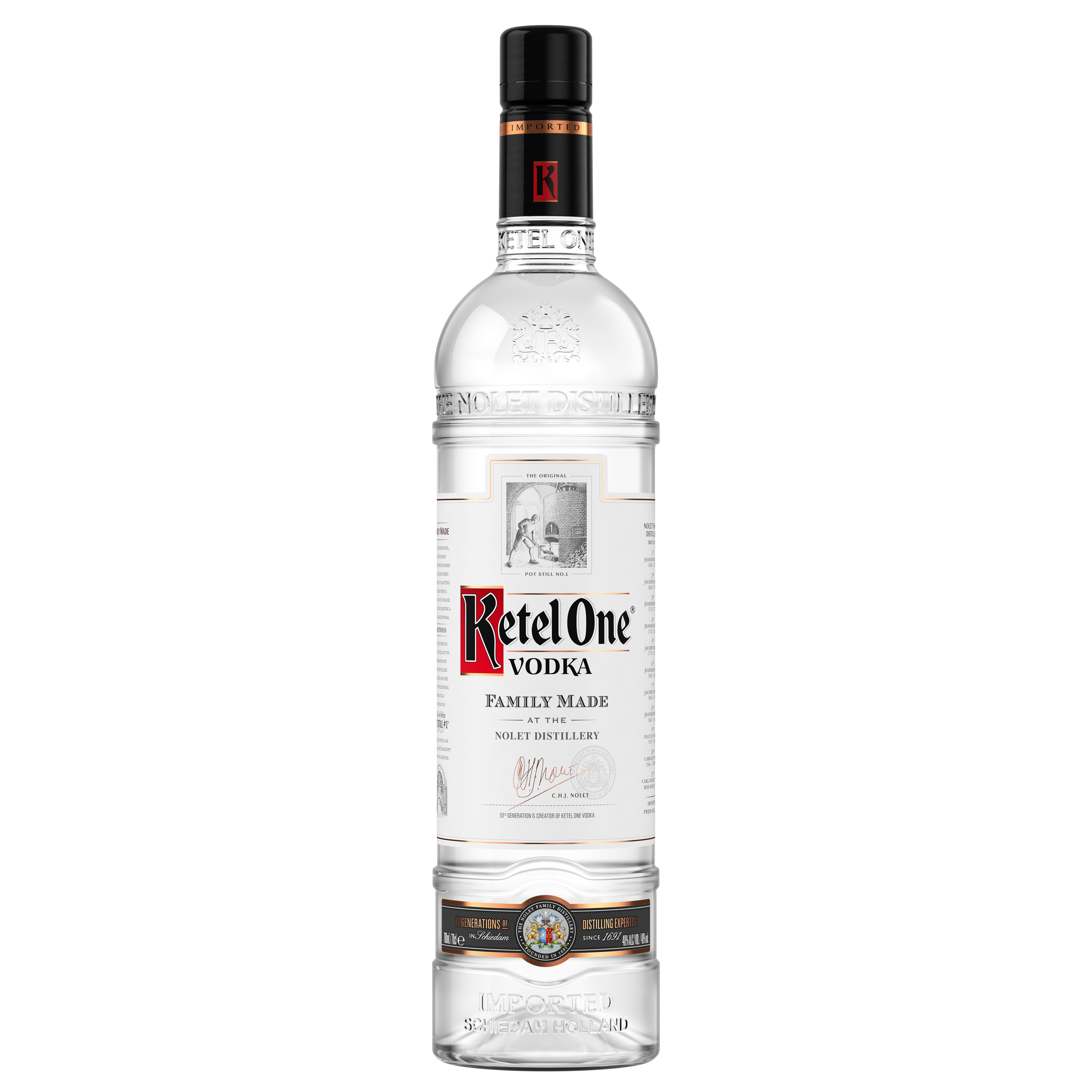 Vodka, Ketel One, 40% alc., 0,7L 0