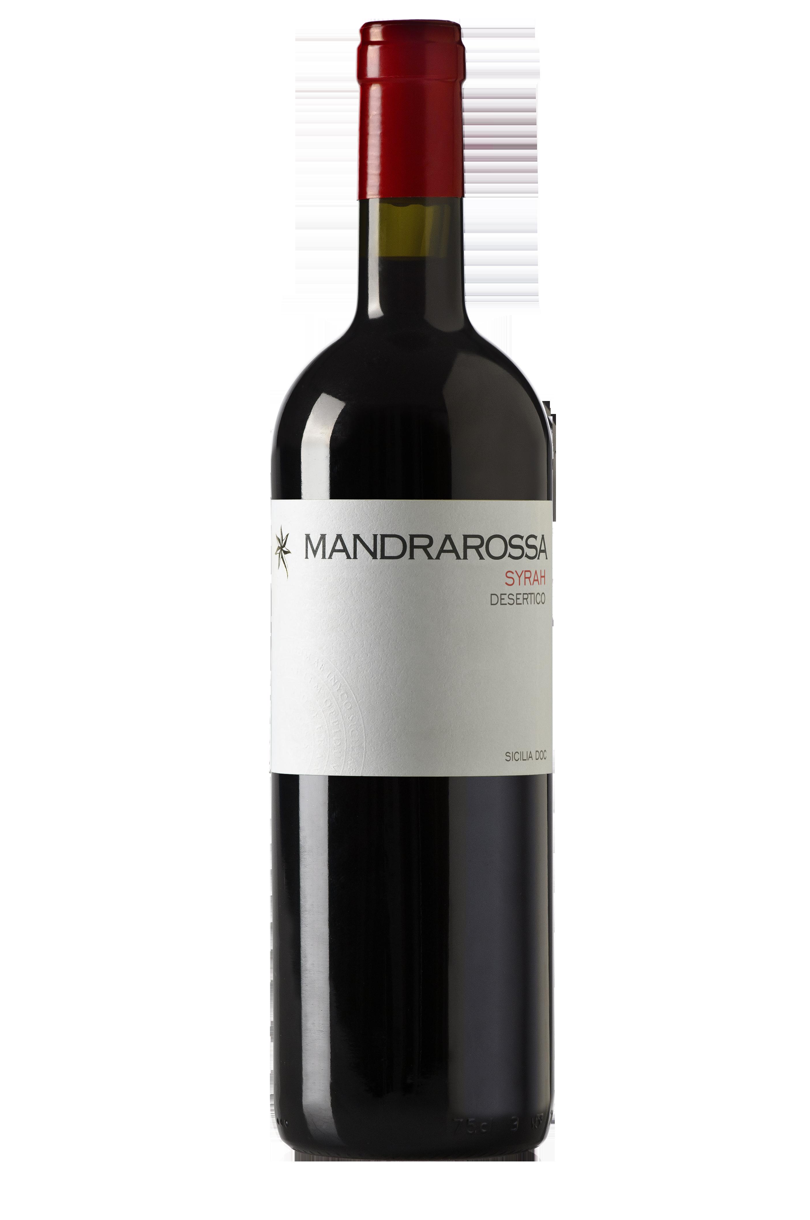 Vin rosu Syrah Desertico DOC, Mandrarossa, 0,75L 0