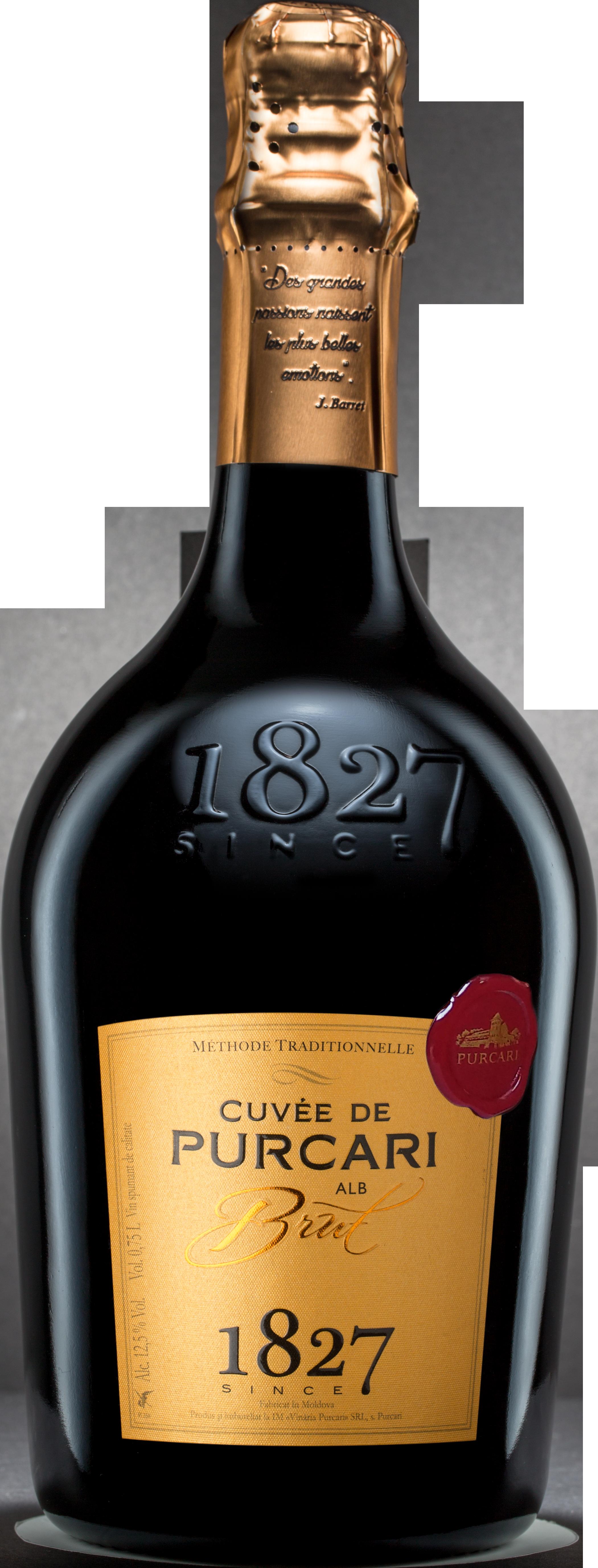 Vin Spumant Classic Alb Brut, Purcari, 0.75L 0