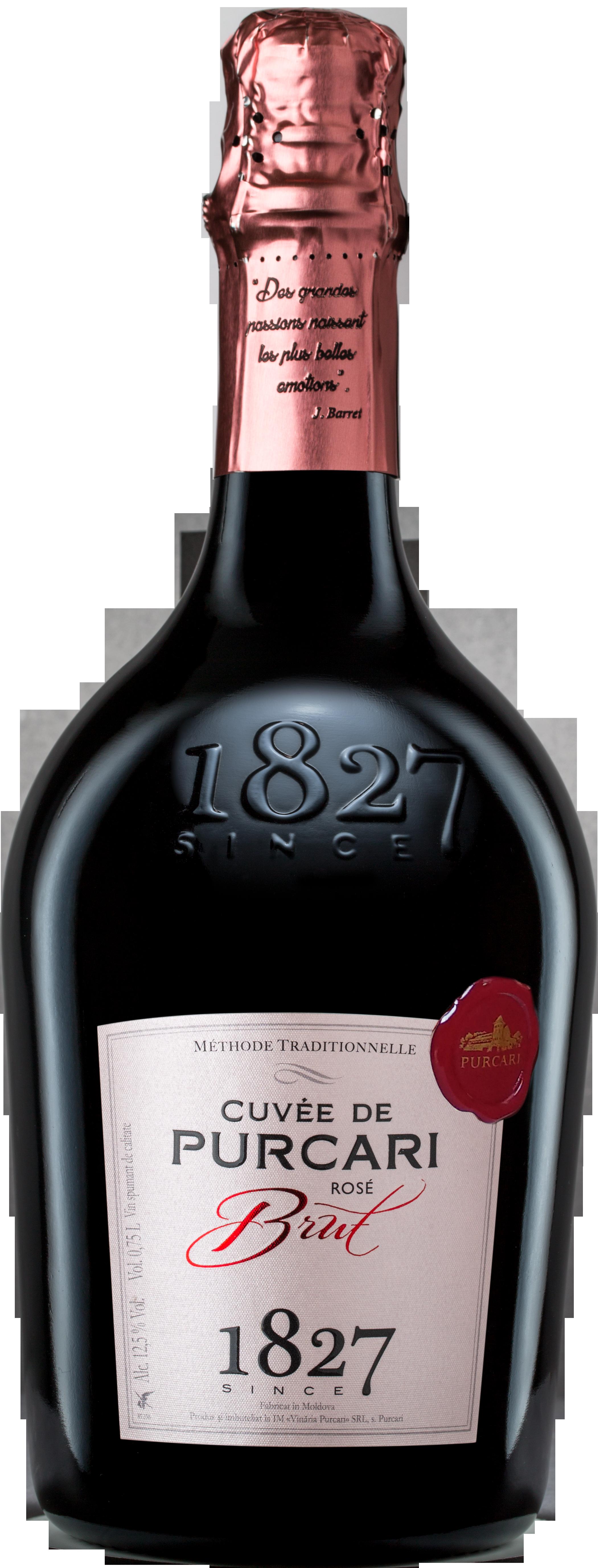 Vin Spumant Classic Rose Brut, Purcari, 0.75L [0]