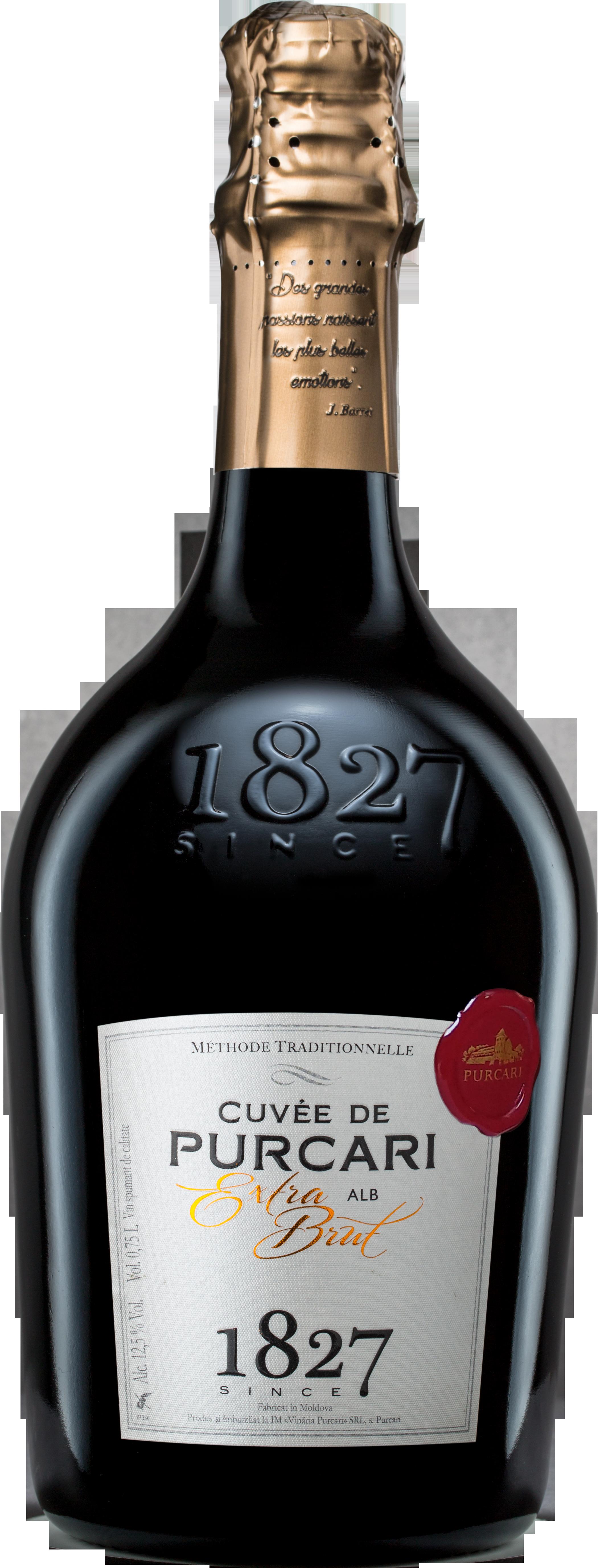 Vin Spumant Alb Extrabrut, Purcari, 0.75L 0