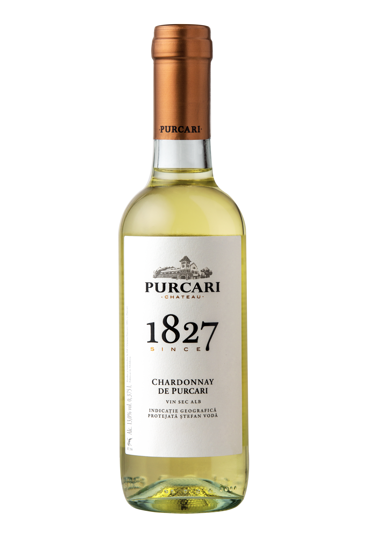 Vin Chardonnay Sec, Purcari 1827, 0.375L [0]