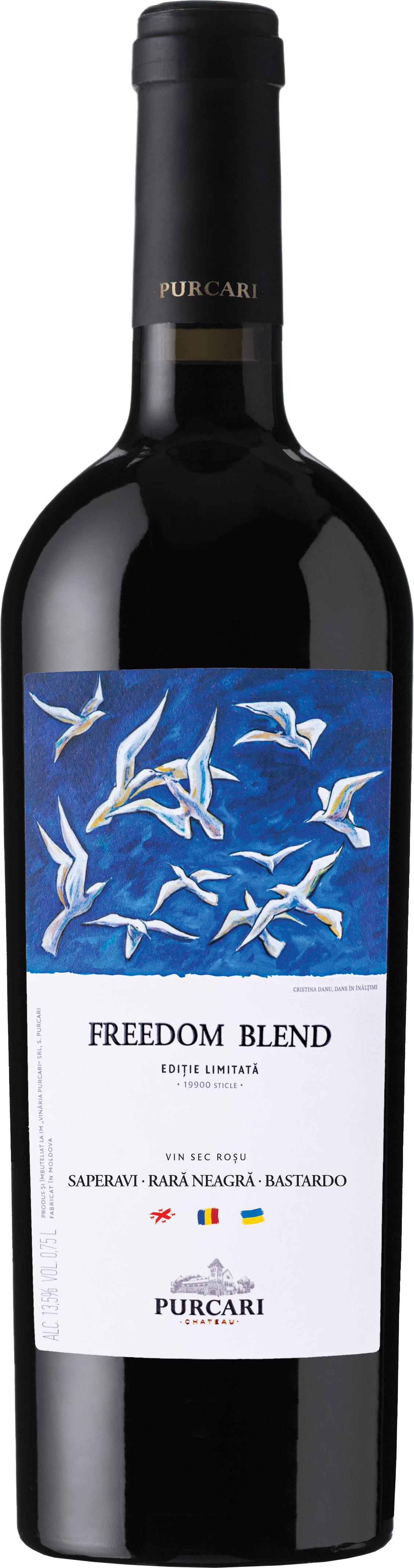 Vin Cupaj Rosu Sec, Purcari 1827 Freedom Blend, 0.75L [0]
