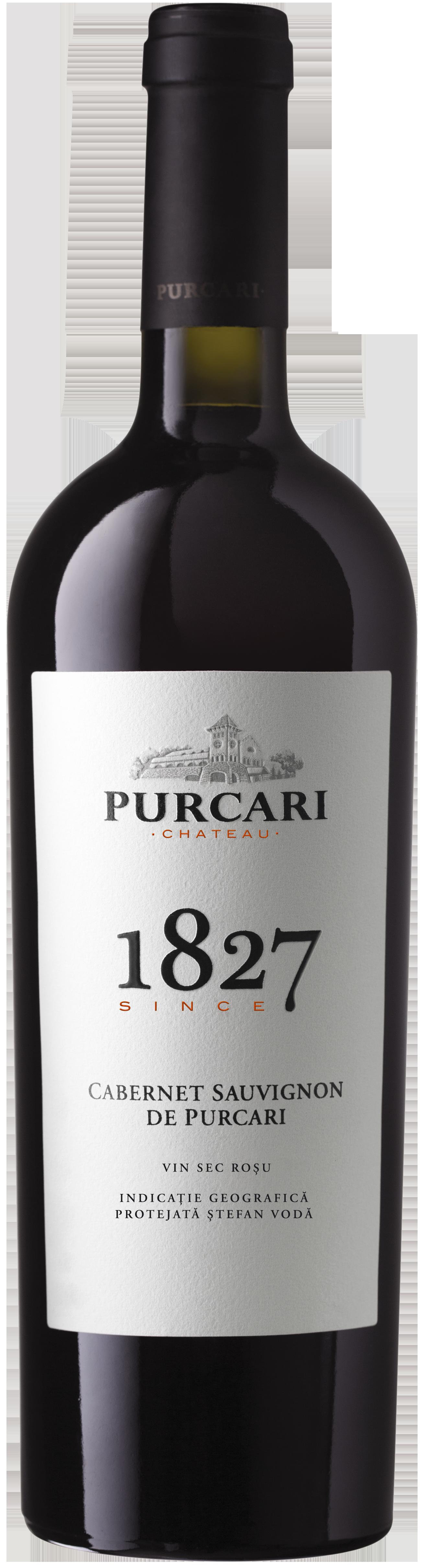 Vin Cabernet Sauvignon Sec, Purcari 1827, 0.75L 0