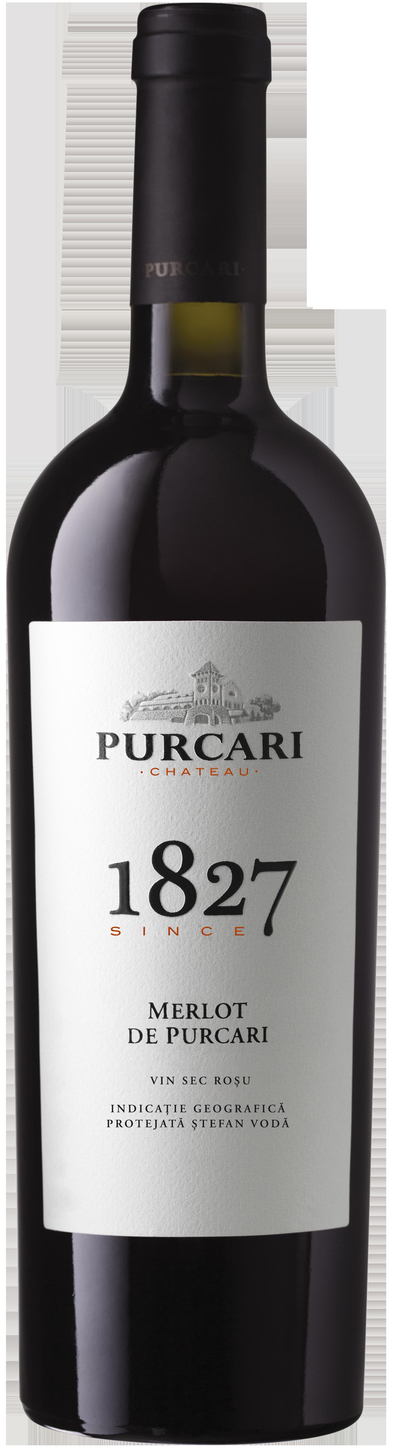 Vin Merlot Sec, Purcari 1827, 0.75L [0]