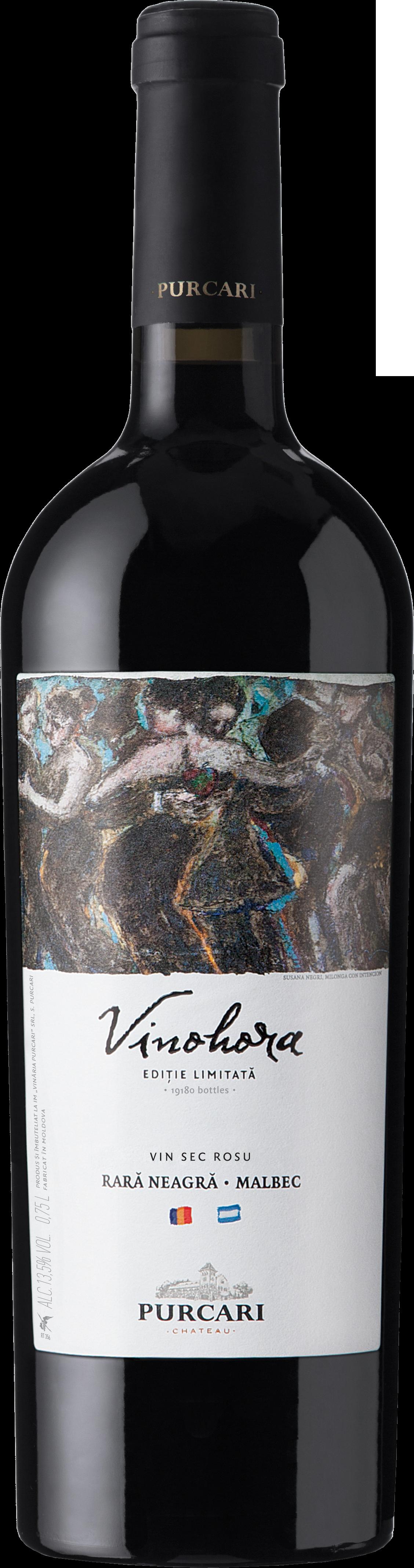 Vin Rara Neagra/Malbec Sec, Vinohora, 0.75L [0]