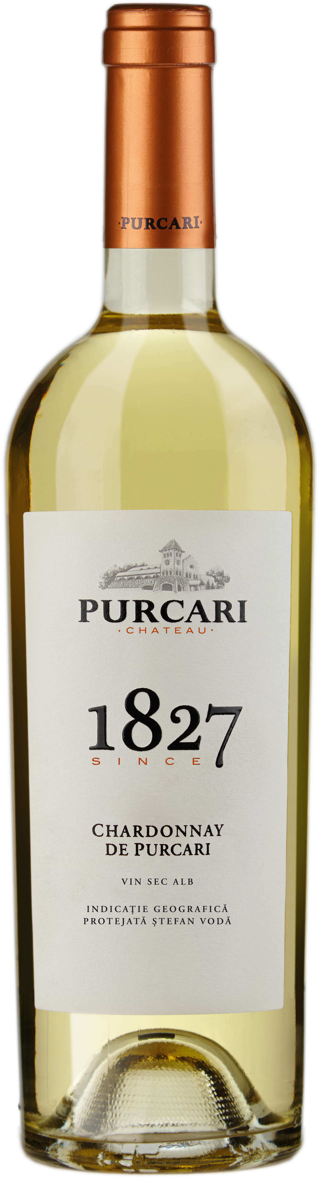 Vin Chardonnay Sec, Purcari 1827, 0.75L [0]