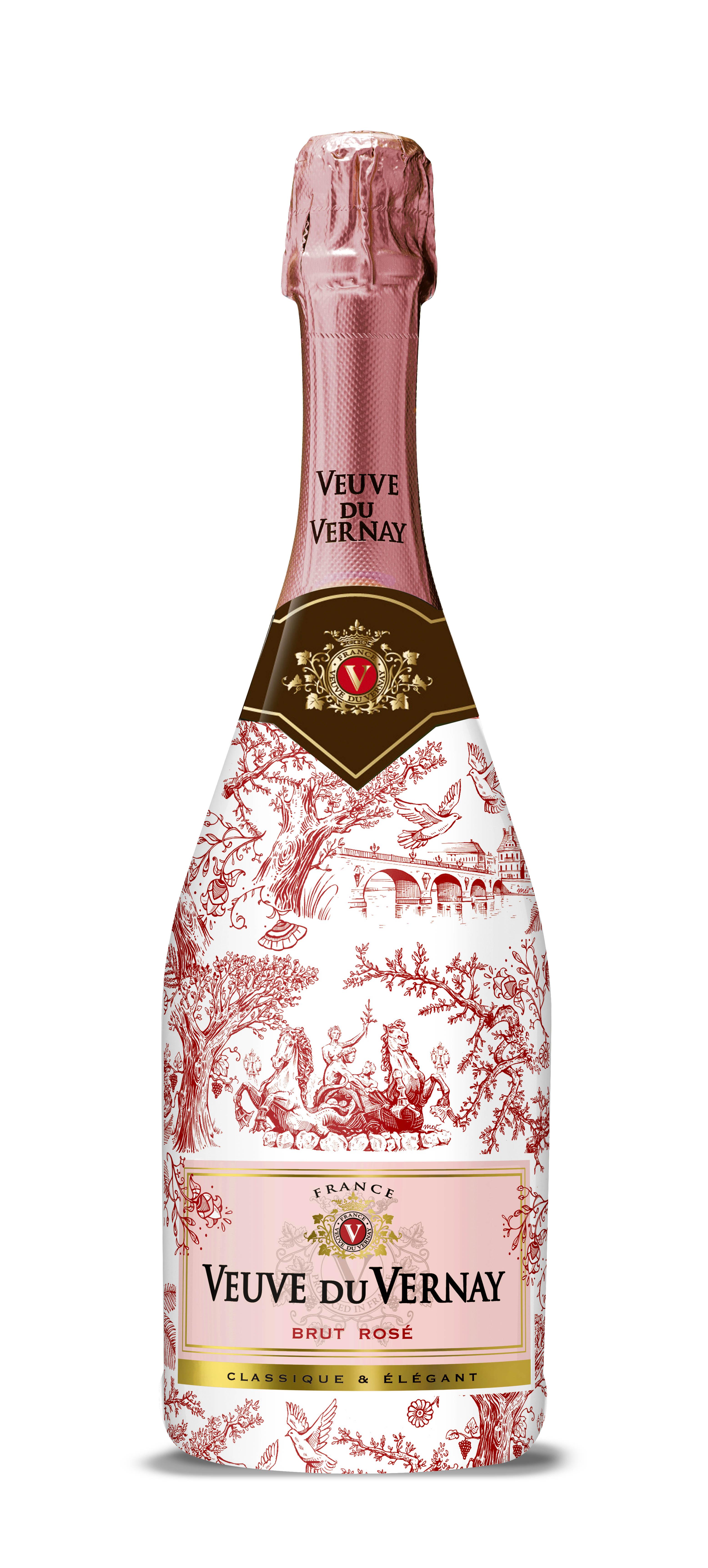 Vin Spumant Roze Brut, Veuve de Vernay, Editie Limitata 0,75L [0]