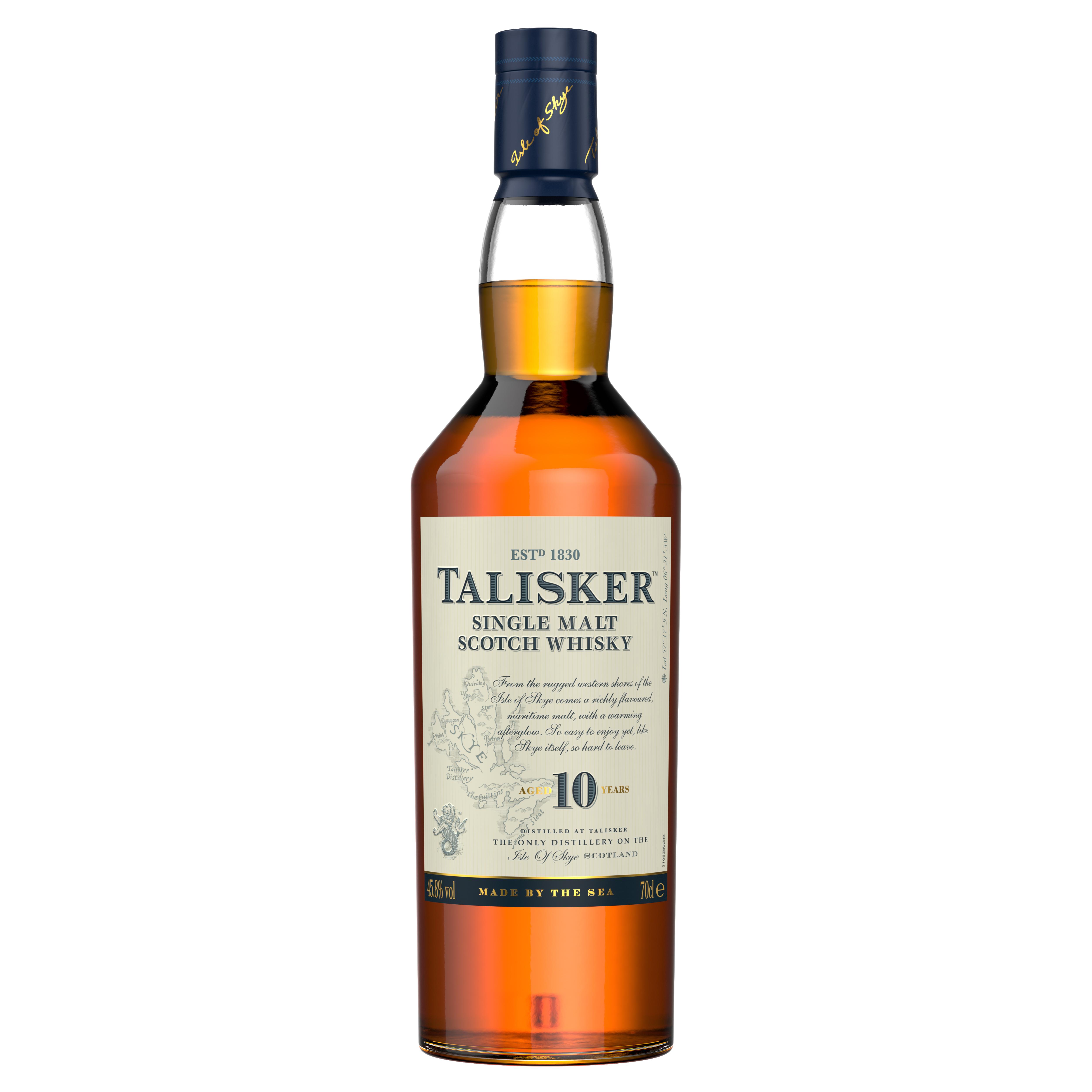 Whisky Single Malt 10 years, Talisker, 45,8% alc, 0,7L [0]