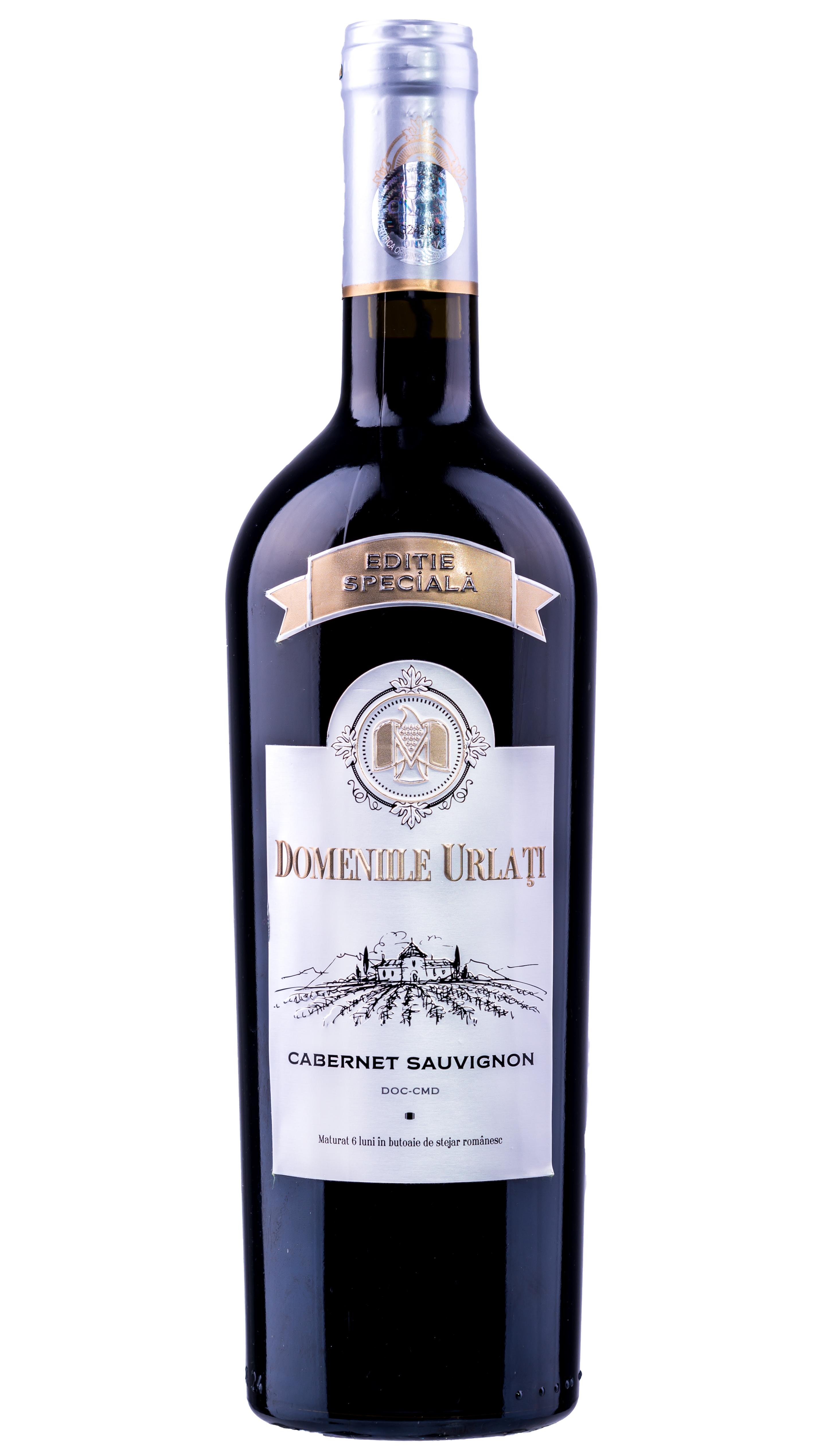 Vin Cabernet Sauvignon, Domeniile Urlati, 0.75L [0]