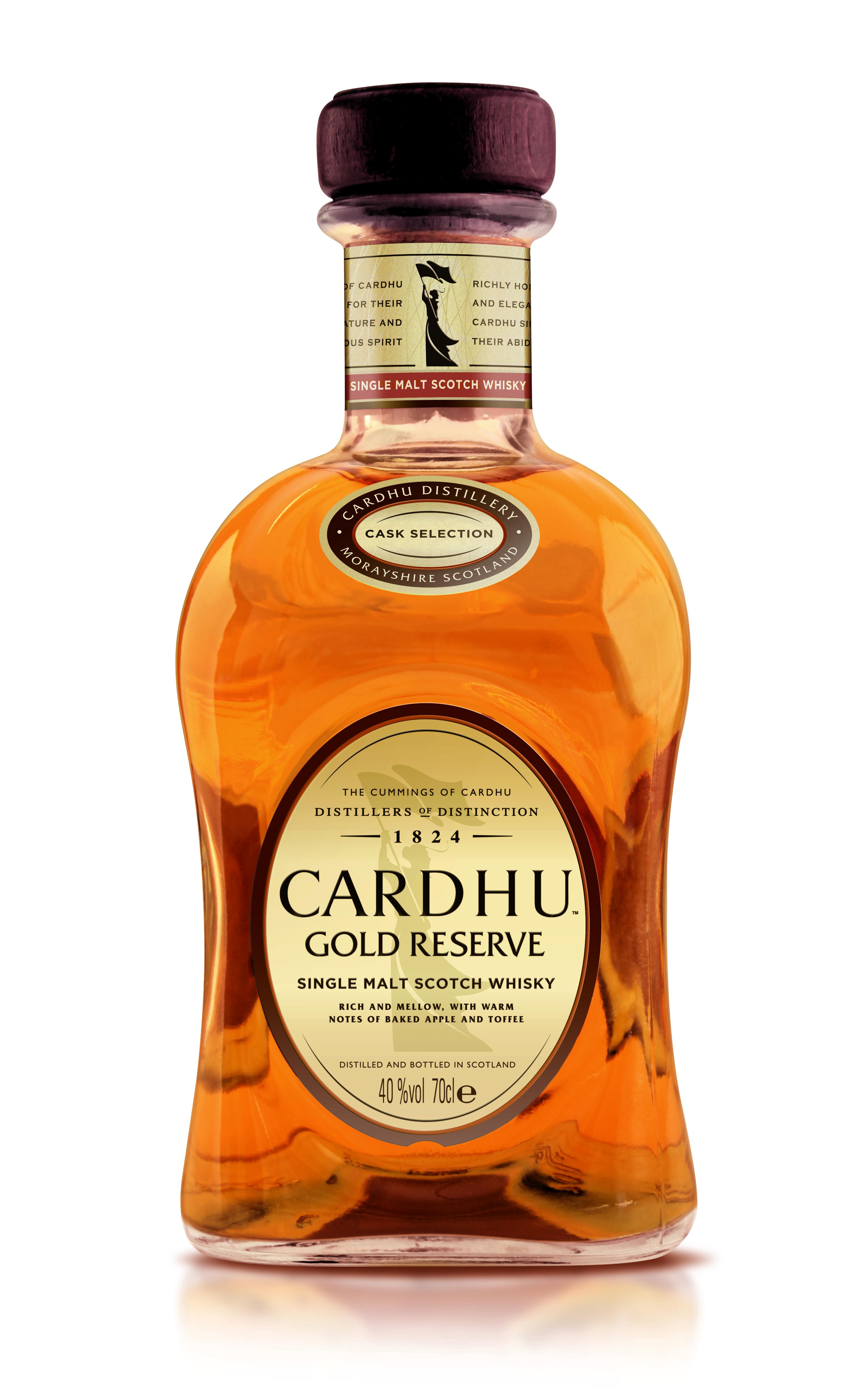 Whisky Single Malt, Cardhu Gold Reserve, 40% alc, 0,7L [0]