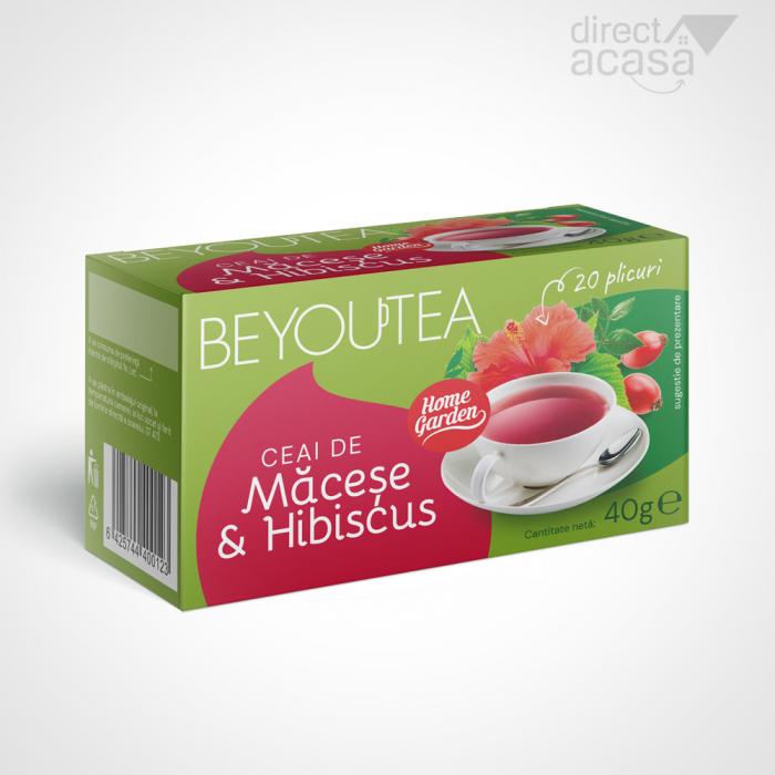 BEYOUTEA CLASSIC MACESE HIBISCUS 20 plicuri 0