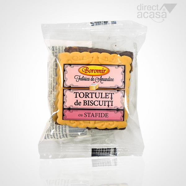 BOROMIR TORTULET DE BISCUITI 44x50G 0