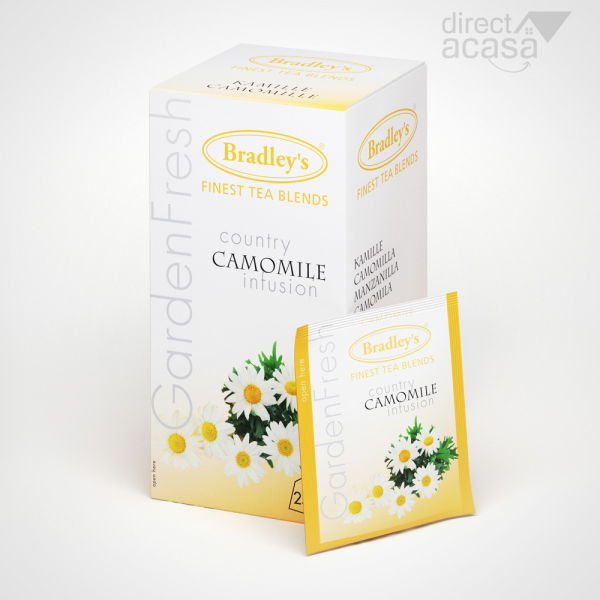 Ceai Garden Fresh Camomile 25x1.2g 0