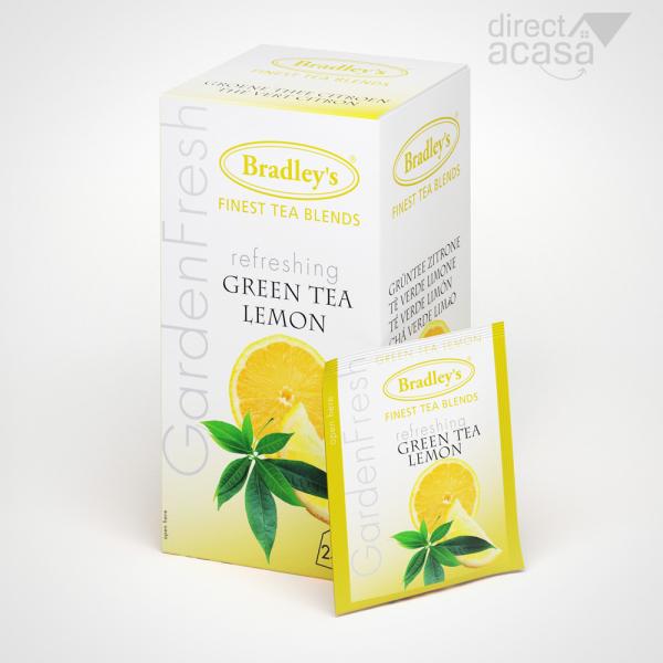 Ceai Garden Fresh Green Lemon 25x1.2g 0