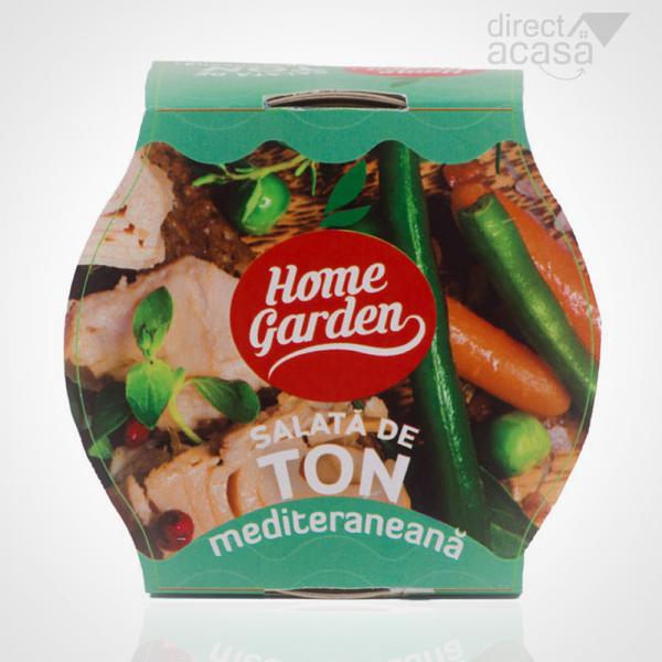 HOME GARDEN SALATA DE TON MEDITERAN 180G 0