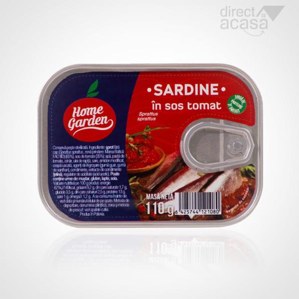 HOME GARDEN SARDINE IN SOS TOMAT 110G 0