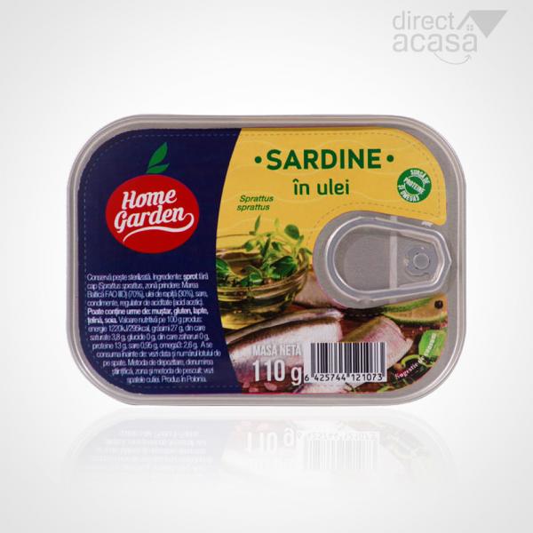 HOME GARDEN SARDINE IN ULEI 110G 0