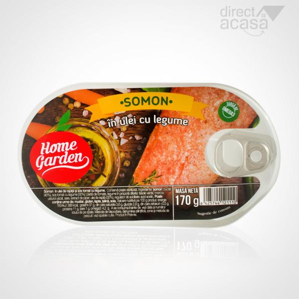 HOME GARDEN SOMON IN ULEI CU LEGUME 170G 0