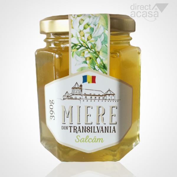 Miere de albine naturala Salcam 390g 0
