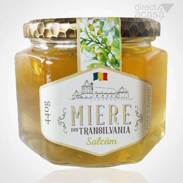 Miere de albine naturala Salcam 440g 0
