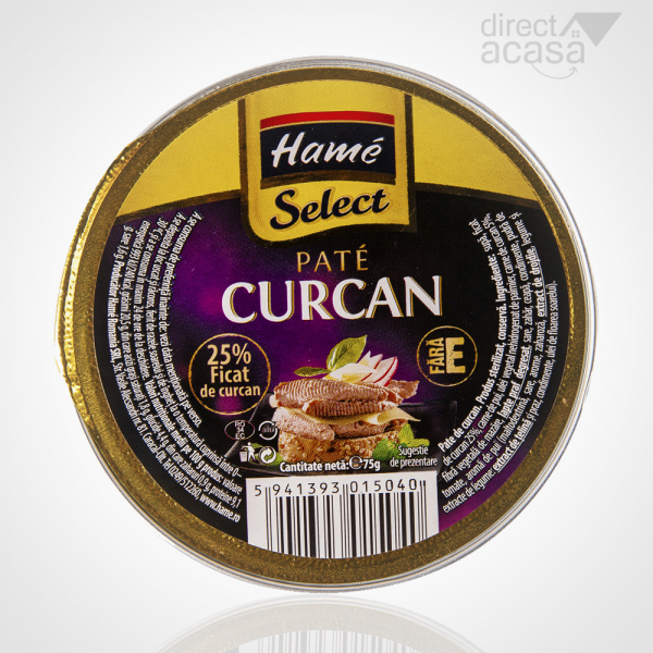 PATE HAME SELECT CURCAN 75G 0