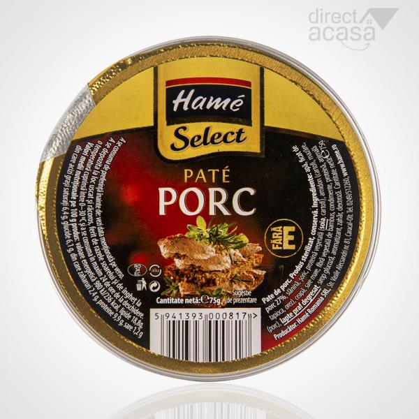 PATE HAME SELECT PORC 75G 0