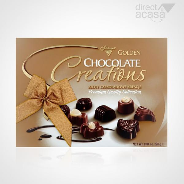 PRALINE GOLDEN CHOCOLATE CREATIONS 228G 0